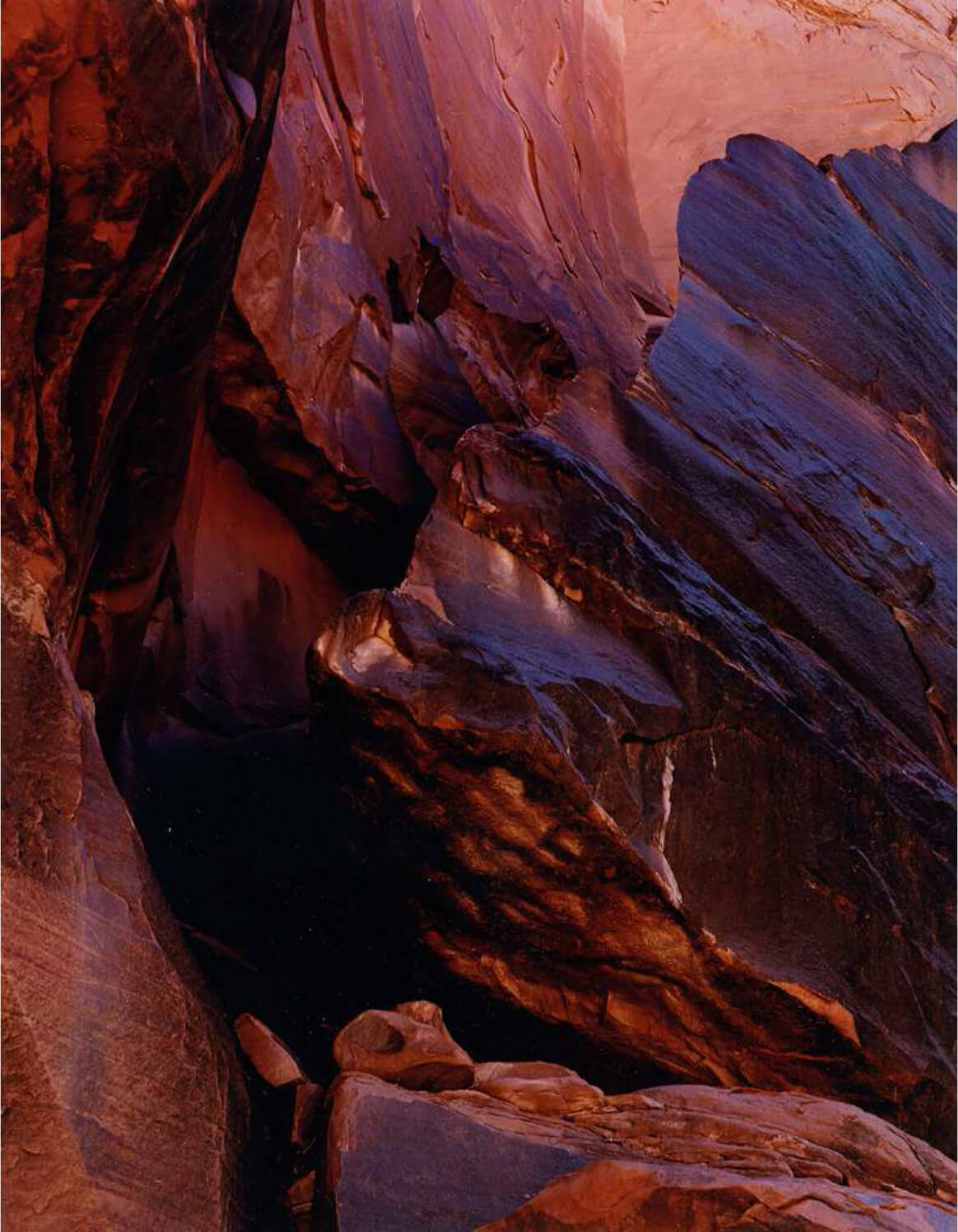 Cliff, Moonlight Creek, San Juan River, Utah